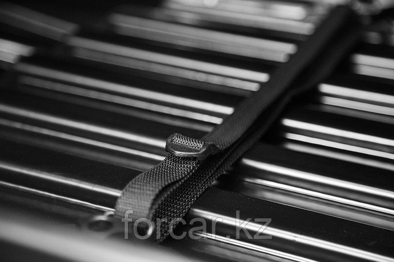 Бокс LUX IRBIS 206 черный глянцевый 470 л (206х75х36 см.) с двусторонним открыванием - фото 8
