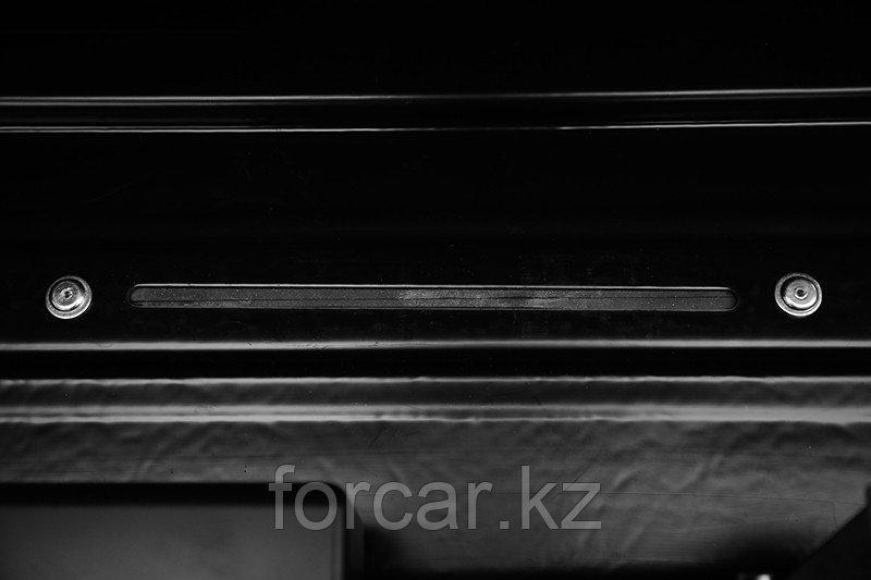 Бокс LUX IRBIS 206 черный глянцевый 470 л (206х75х36 см.) с двусторонним открыванием - фото 9