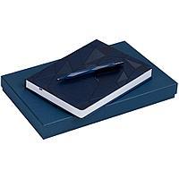 Набор Gems: ежедневник и ручка, синий, фото 1