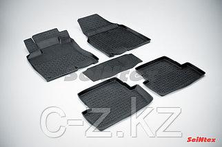 Резиновые коврики с высоким бортом для Nissan Qashqai 2007-2014