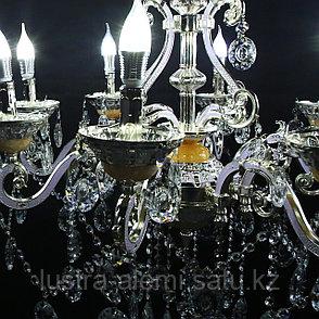 Люстра Классика 8825/8 Silver, фото 2