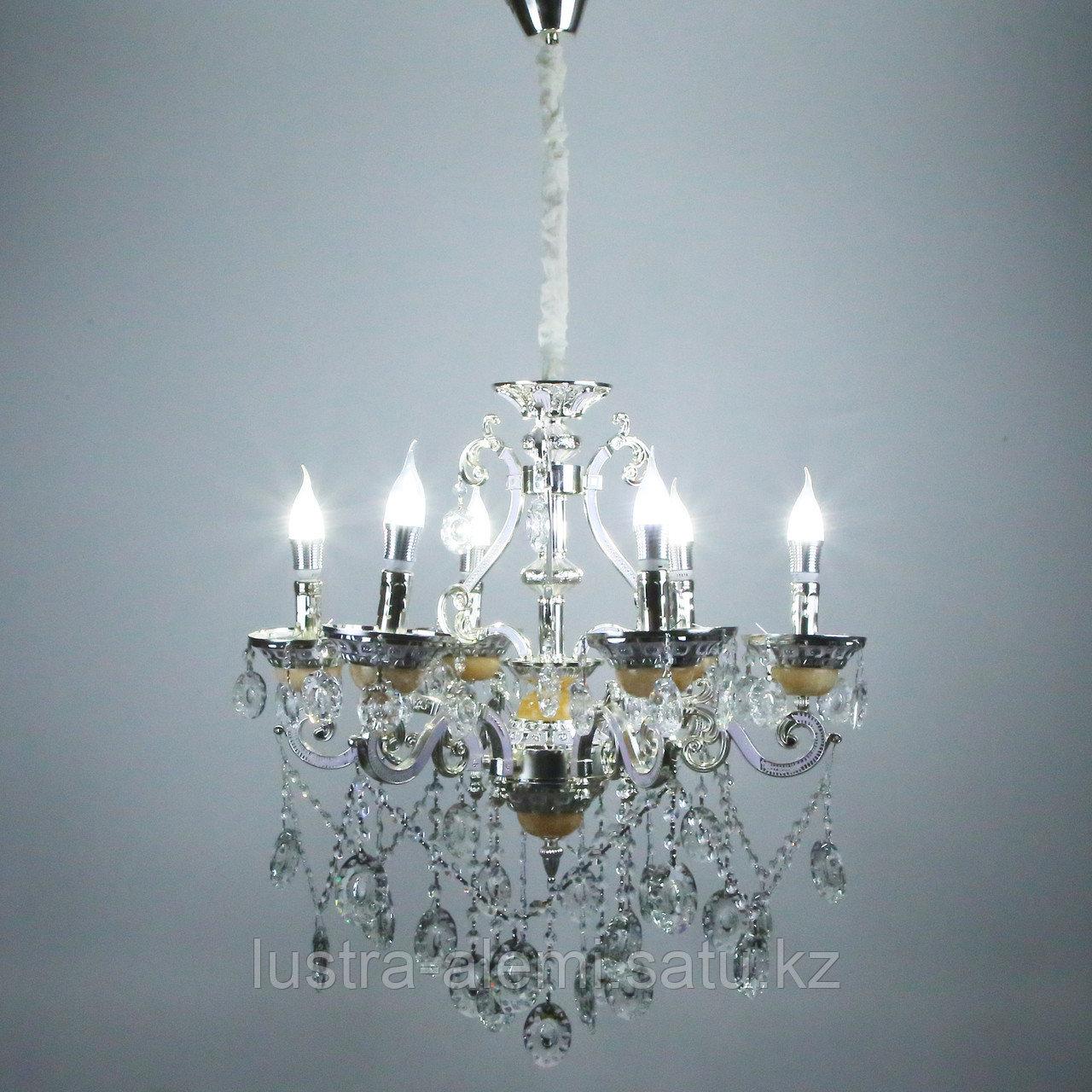 Люстра Классика 8825/6 Silver