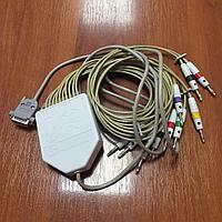 Кабель отведений ЭКГ с выносным блоком на ЭКГ Альтон, Геолинк, фото 1