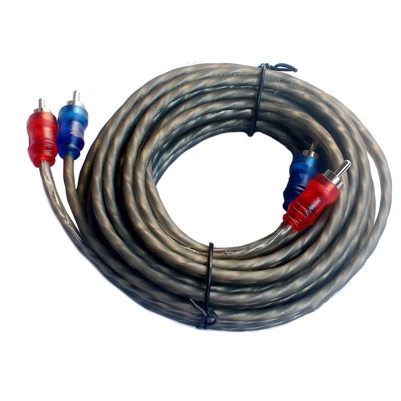 Кабель межблочный RCA -2 провода для сабвуфера Кабель межблочный RCA -2 провода для сабвуфера