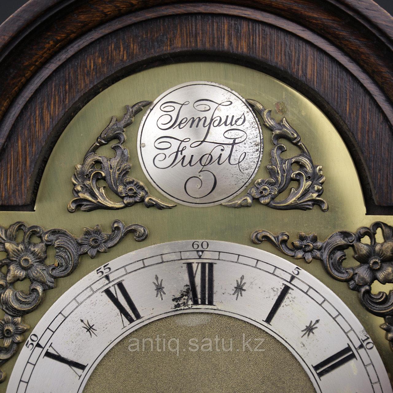 Настольные голландские часы с лунным календарем. Часовая мастерская Junghans. - фото 5