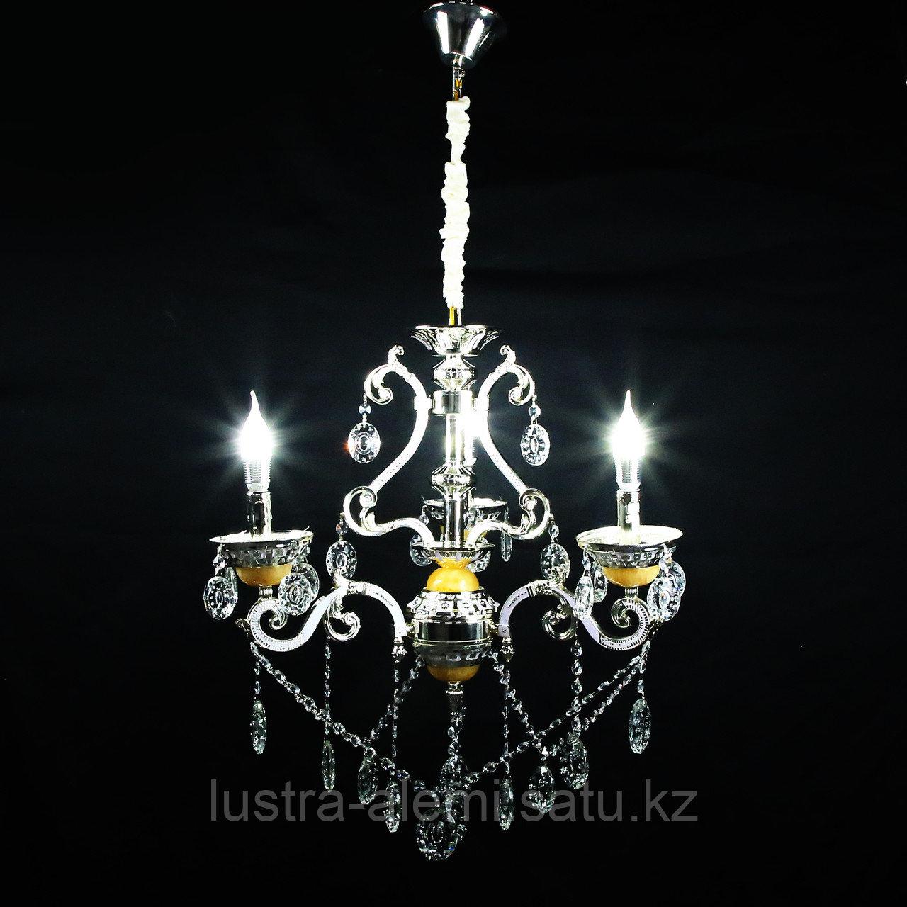 Люстра Классика 8825/3 Silver