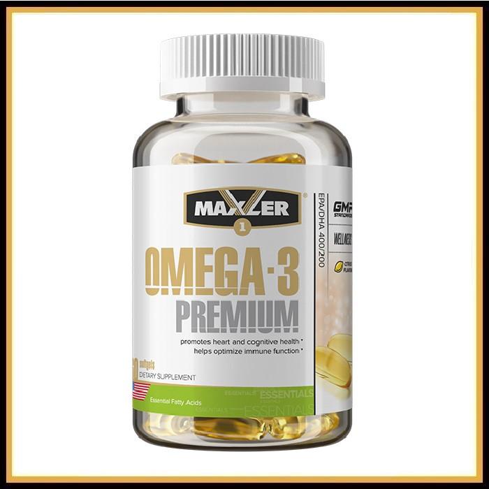 Maxler Omega-3 Premium  60капсул