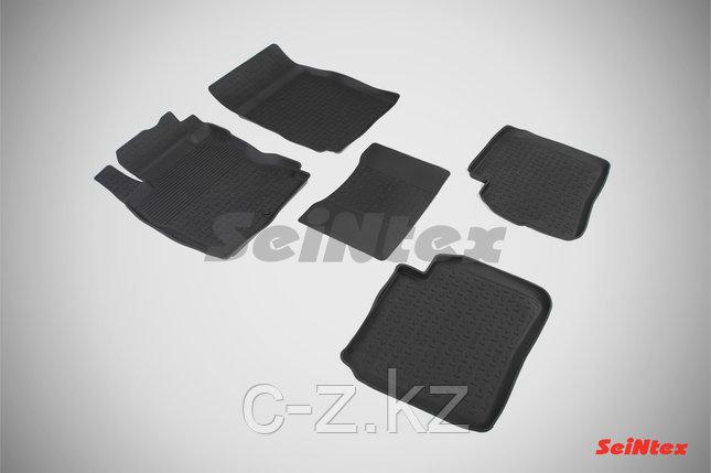 Резиновые коврики с высоким бортом для Nissan Note 2005-2014, фото 2