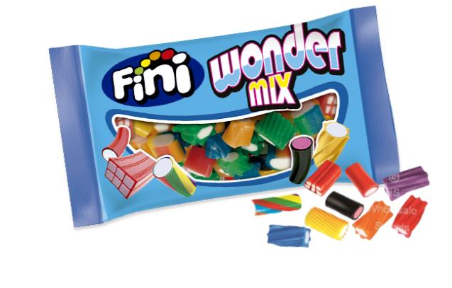 """Жев.мармелад """"Волшебный микс"""" Wonder Mix 50гр  (18 шт. в упаковке)/FINI Испания/"""