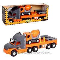 """Машинка """"Super Tech Truck"""" с бетономешалкой, фото 2"""