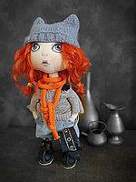 Кукла авторская текстильнвя, фото 1