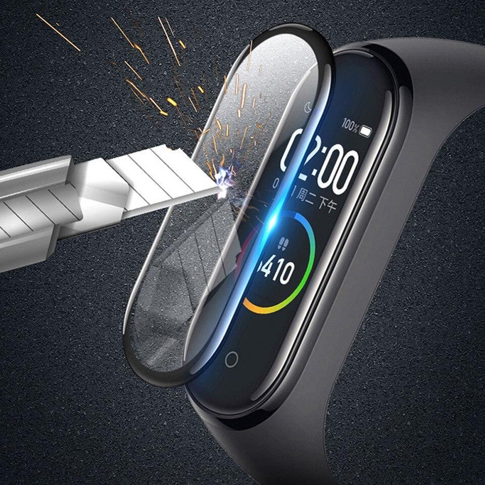 Защитное стекло на Mi Band5 -3D Protective Glass for Xiaomi mi band 5