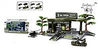 Игровой набор Автозаправка Military