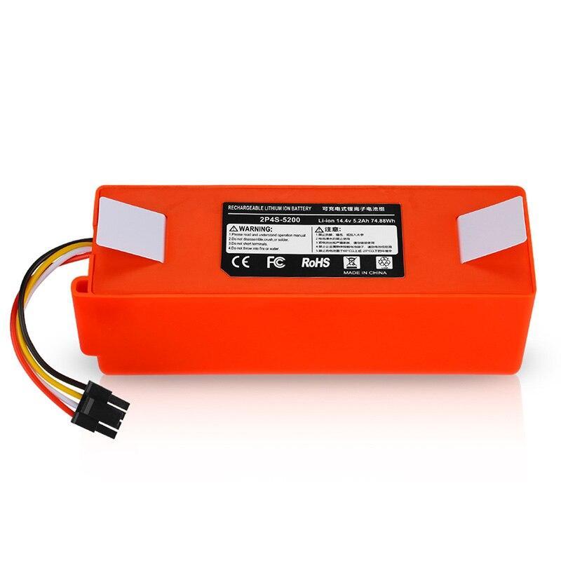 Сменная батарея для робота-пылесоса- 5200mAh Original Manufacture Roborock (люкс копия, 30 дней гарантия)