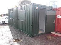 Утепленный контейнер на базе 20 фут., фото 1