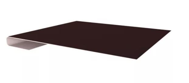 Завершающая планка простая Матовая 65х3000 мм