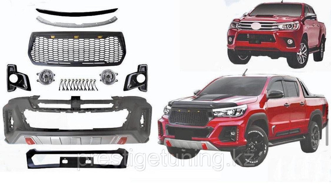 Комплект рестайлинга дизайн TRD на Toyota Rocco 2016-