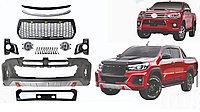 Комплект рестайлинга дизайн TRD на Toyota Hilux 2016-19