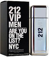 Туалетная вода 212 VIP Men Carolina Herrera для мужчин 100ml