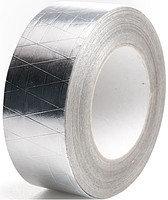Скотч алюминиевый с ниткой 5 см