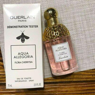 Туалетная вода Aqua Allegoria Flora Cherrysia Guerlain для мужчин и женщин 75мл, фото 2