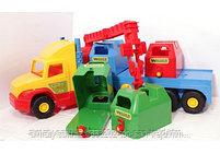 Машинка игрушечная мусоровоз c контейнерами Wader Super Truck, фото 2
