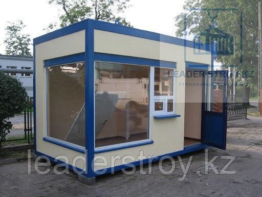 Киоски торговые павильоны из блок - контейнеров