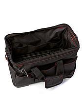Сумка для инструмента  420х235х270 мм (15 карманов, металл.каркас, пластиковое дно,ремень, до 20 кг), фото 2