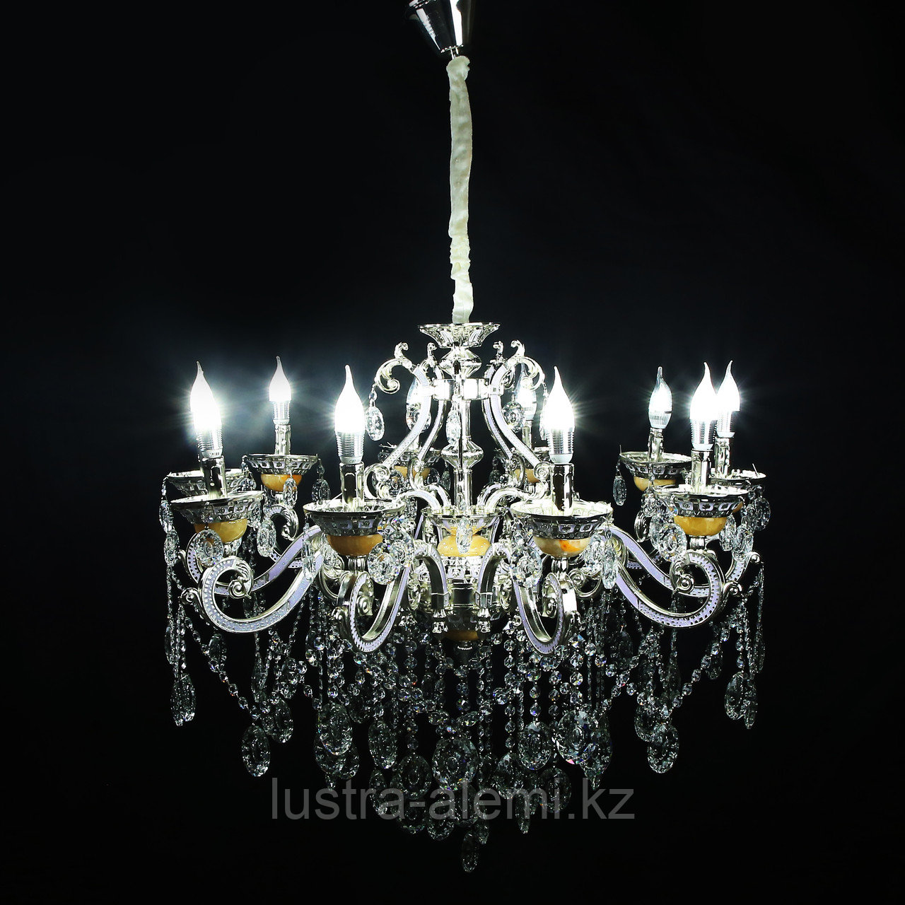 Люстра Классика 8825/10 Silver