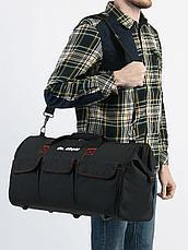 Сумка для инструмента  500х230х300 мм (17 карманов, металл.каркас, жесткое дно, резин.ножки, ремень, до 18кг), фото 3