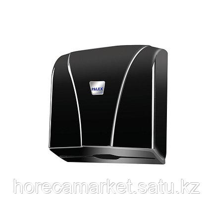 Диспенсер бумажных полотенец Z укладки черный, фото 2