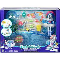 Набор игровой Enchantimals Снежная долина Рыбалка на льду