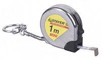Брелок мини-рулетка Stayer, 1м