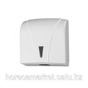 Диспенсер бумажных полотенец Z укладки белый