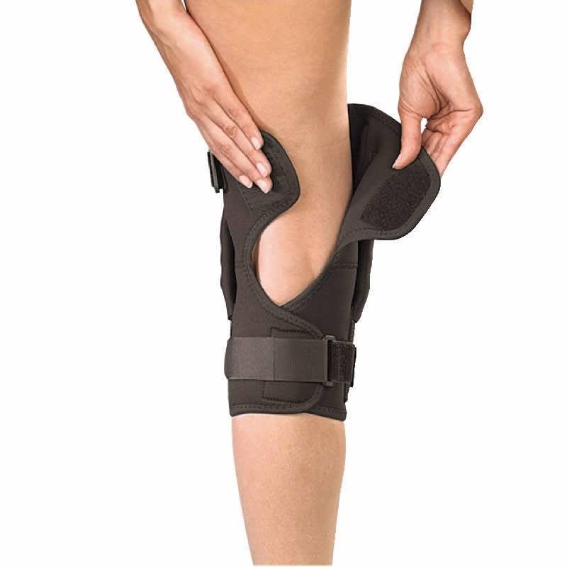 Наколенник с металлическими шарнирами Hinged Knee Brace от Mueller - фото 3