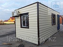 Жилой дом из контейнера 20ф