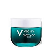 Крем-маска ночная восстанавливающая Vichy Slow Age, для интенсивной оксигенации кожи, 50 мл