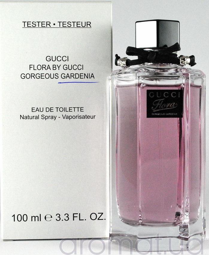 Flora by Gucci Gorgeous Gardenia Gucci для женщин 100ml (тестер)