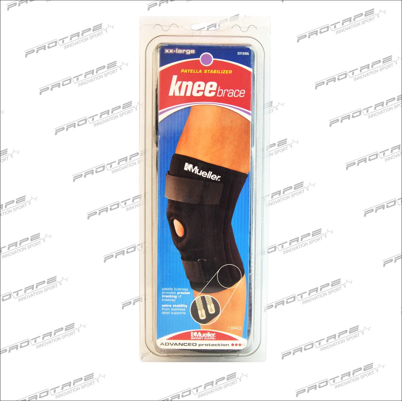 Бандаж на колено Mueller 2313 Patella Stabilizer Knee Brace with Universal Buttress - фото 1