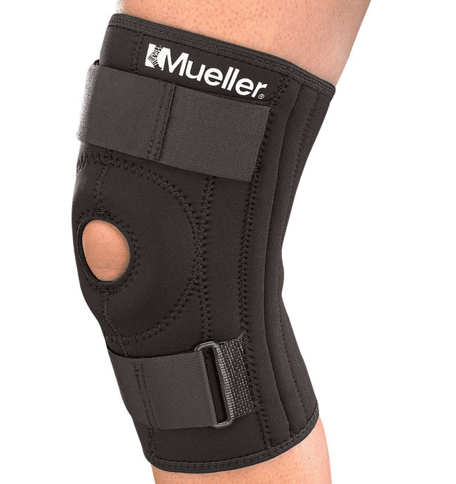 Бандаж на колено Mueller 2313 Patella Stabilizer Knee Brace with Universal Buttress - фото 3