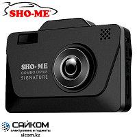 SHO-ME COMBO Drive Signature (3в1) Видеорегистратор + Радар-Детектор