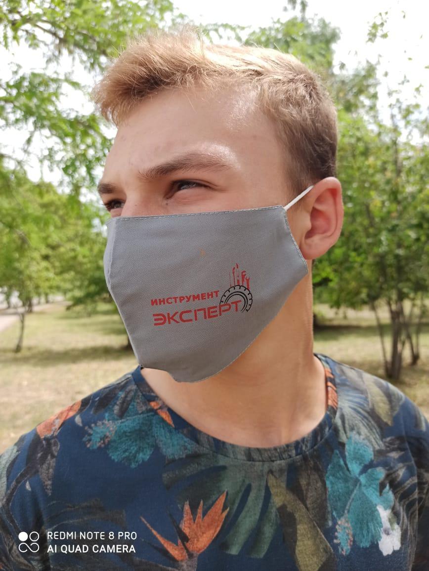 Многоразовые защитные маски. Оптом. - фото 1