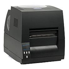 CITIZEN CL-S621G Принтер для печати штрихкодов, термотрансферная печать, 200 dpi, серый, RS232, USB