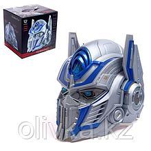 Шлем трансформера «Защитник планеты», световые и звуковые эффекты, работает от батареек