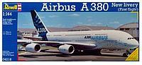 Детская игрушка музыкальный самолет Airbus a380 модель NO. A380-200RU
