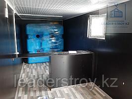 Утепленный контейнер под прачечную 40ф