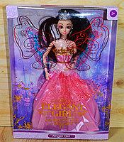 ZR-099 Angel Girl кукла с короной в пышном платье.гнется в суставах,32*24см