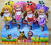 SCMS-55 Кукла Маша рожок (3вида 12шт в уп.) цена за 1шт 27*10см, фото 1