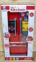 66081-3 mini kitchen красный холодильник, 33*17см, фото 1