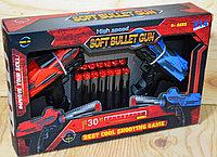FS422 Soft bullet gun 2 пистолета,14 патронов, 30*19см, фото 1